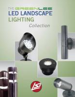 Colección LED de iluminación de paisaje