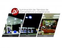 Iluminación de gasolinerías y tiendas de conveniencia