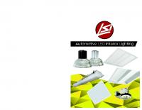 Iluminación interior automotríz LED