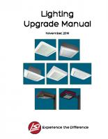 Manual de actualización de iluminación