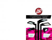 Matriz de iluminación LED de gasolinerías