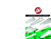 Matriz de iluminación LED de montaje de superficie