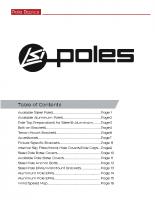 Pole basics
